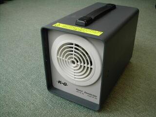 業務用オゾン脱臭機の写真