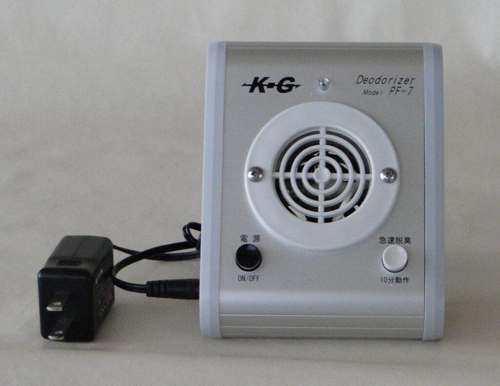 家庭用オゾン脱臭器の写真